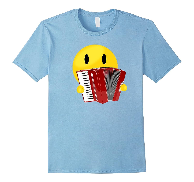 Cute Air Accordion Emoji Style T-Shirt