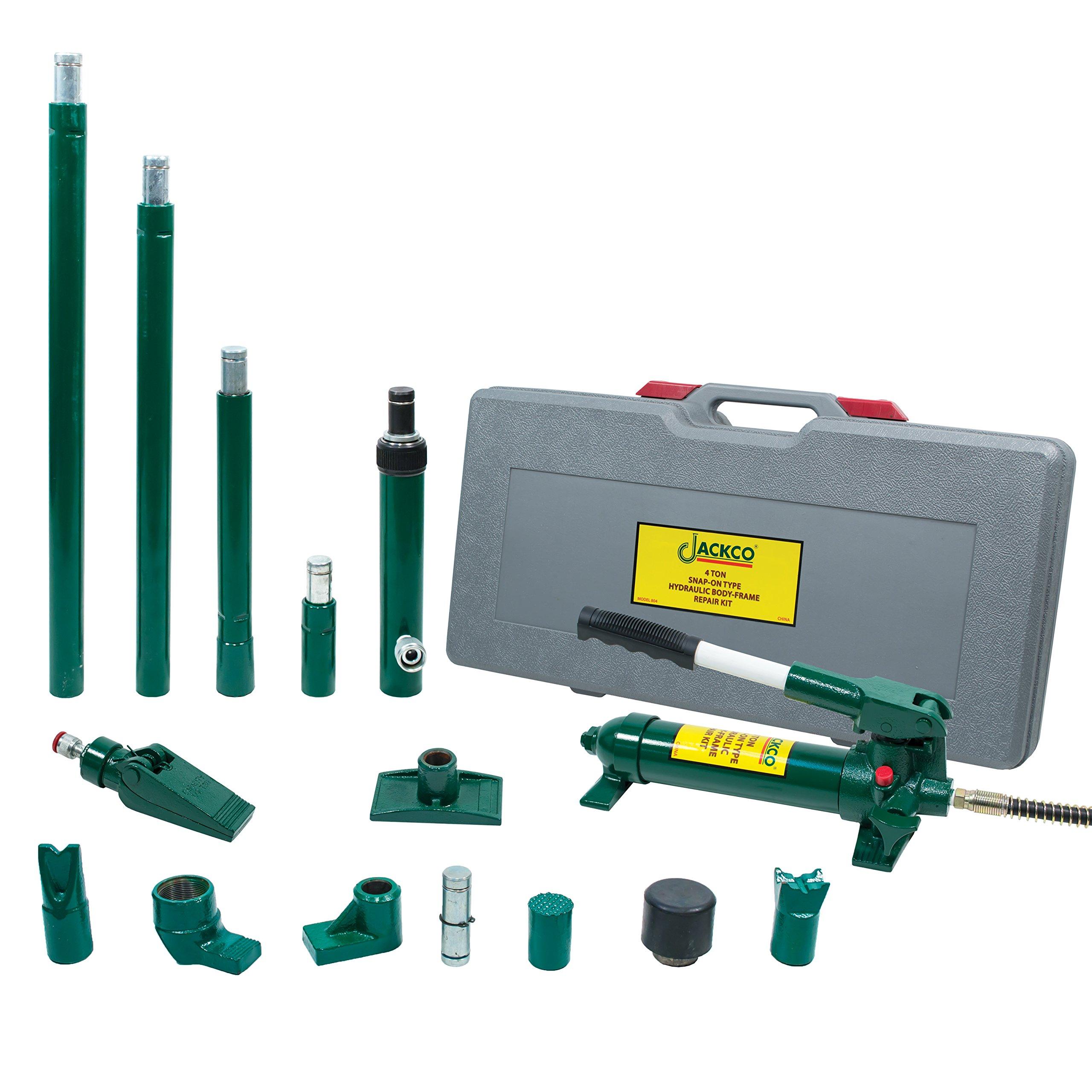 Jackco 4 Ton Snap-on Type Hydraulic Body Frame Repair Kit