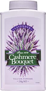 Cashmere Bouquet Talcum Powder with a fresh scent of Lavender 250g