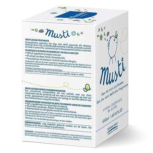 Amazon.com: Eau de soin Mustela Musti de 1.69onzas ...