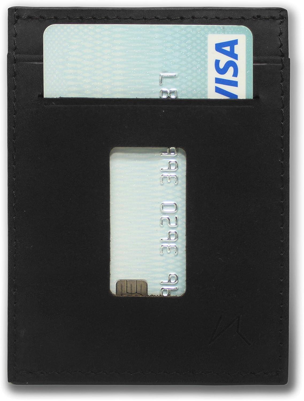 Haru RFID Protected Front Pocket Wallet for Cash /& Cards