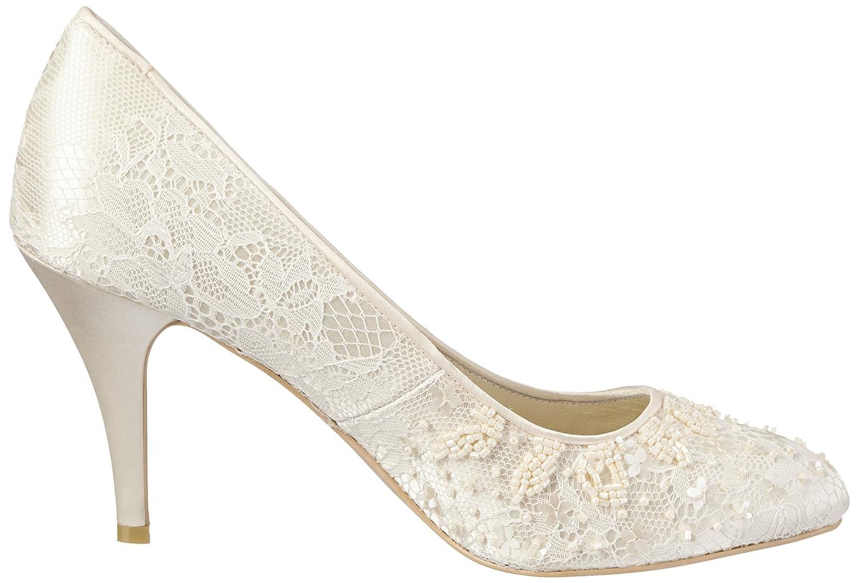 Menbur Wedding Damen Adriana Damen Wedding Pumps Elfenbein (Ivory) d89052