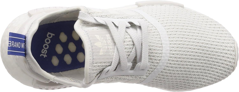 adidas Damen NMD_r1 W Gymnastikschuhe, blau Weiß Balcri Balcri Lilrea 000