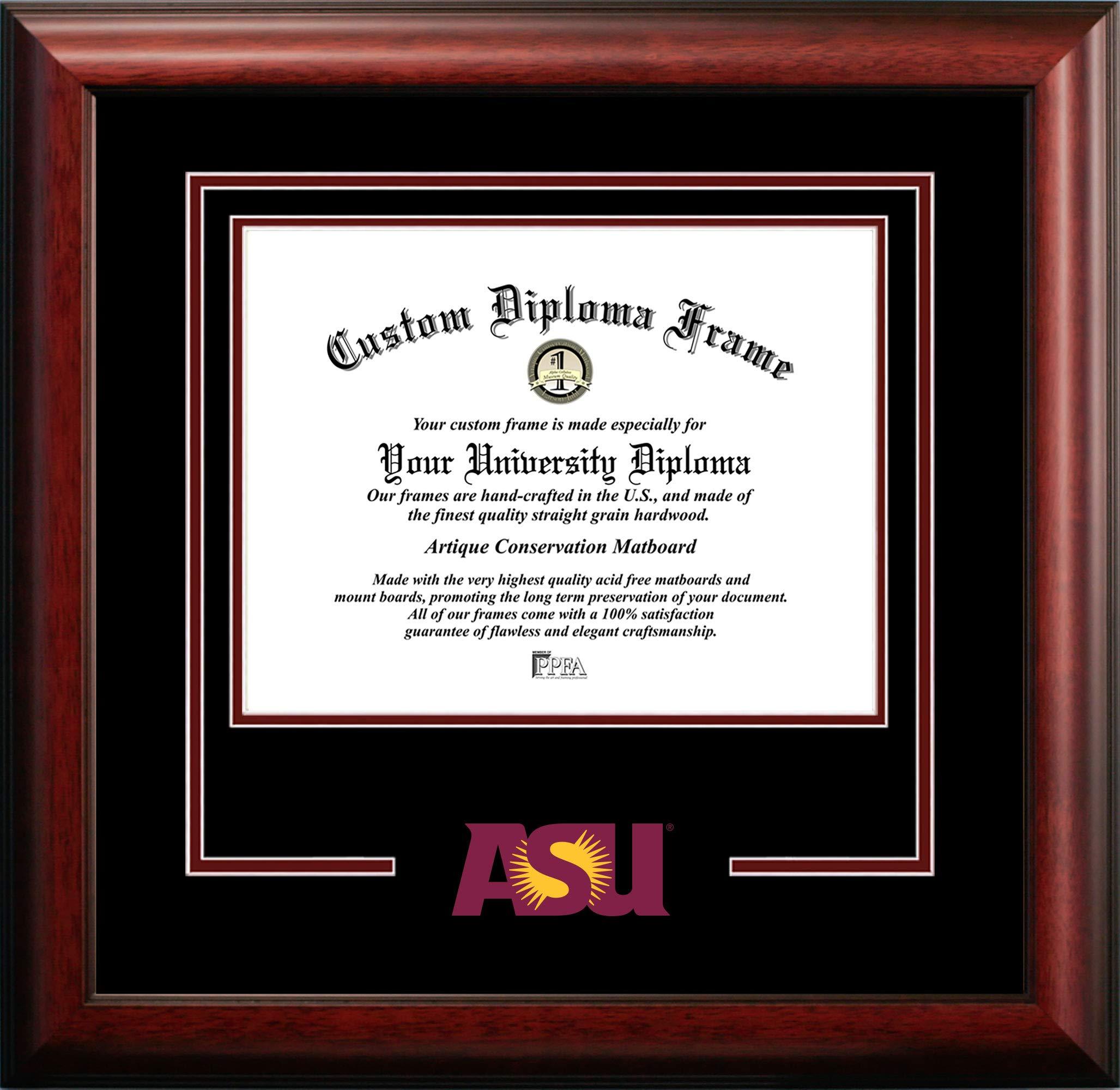 Campus Images Arizona State University Sun Devils Spirit Diploma Frame