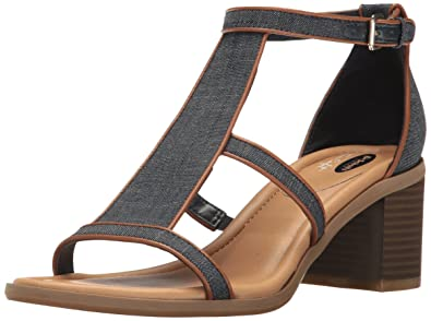 16dd70b3e5e Dr. Scholl's Women's Shine Heeled Sandal