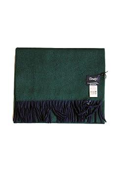 Wool Angora Scarf ALLAA 19751: Navy / Green
