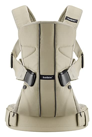 47acdfb55ed Amazon.com   BABYBJORN Baby Carrier One - Khaki