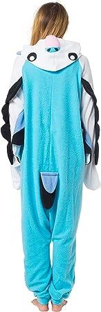 Pyjamas de peluche: Enterizo unisexo suave y caliente para mujeres, hombres, adolescentes o niños, p
