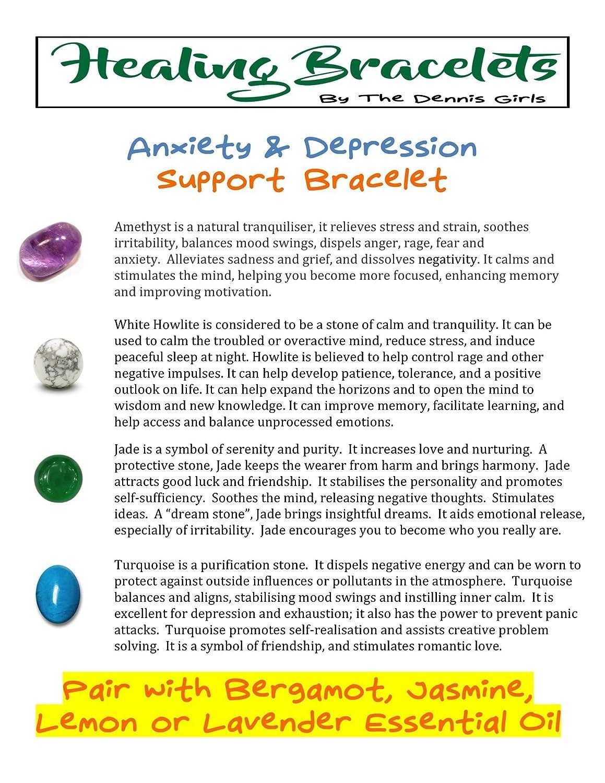Anxiety Aromatherapy Diffuser Bracelet Amazon Handmade
