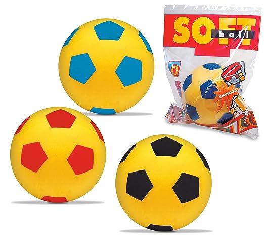 22 opinioni per Mondo 07/852- Palla da calcio morbida, ø 20 cm, Colori assortiti