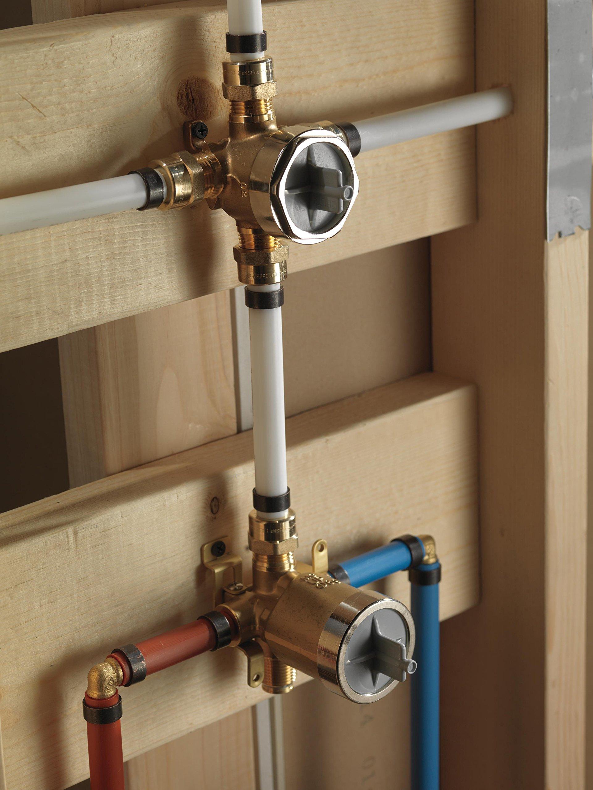 Delta R11000 3/6 Setting Diverter Rough - R11000 < Bathtub & Shower ...
