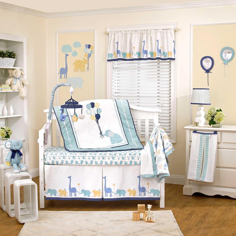 Amazon Happy Animals 4 Piece Baby Crib Bedding Set by Petit
