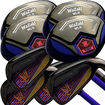 Amazon.com: Japan WaZaki WL-IIs 4-SW Combo Hybrid Irons USGA ...