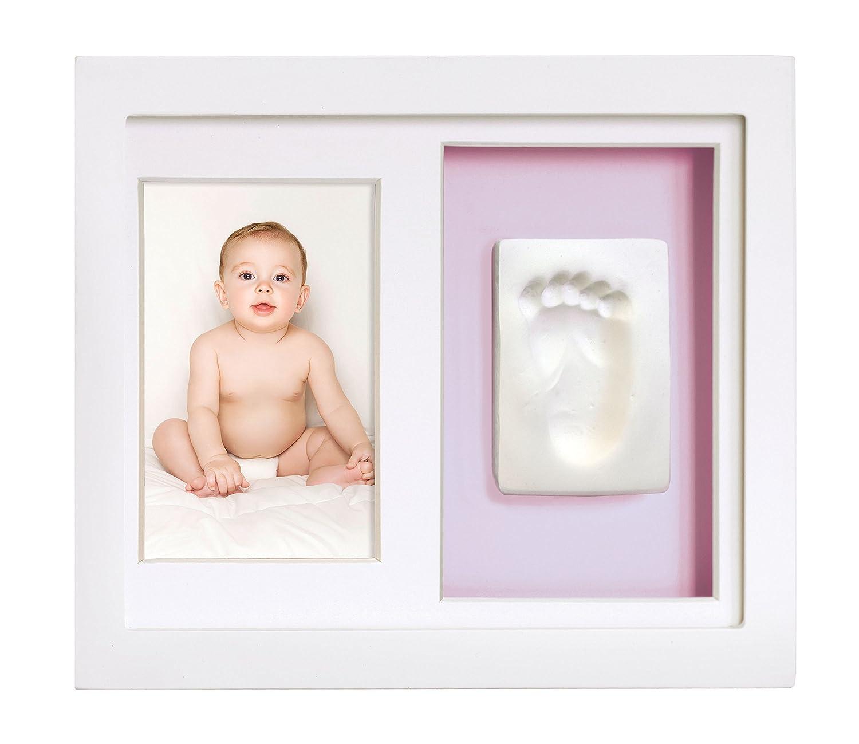 Amazon.com : Tiny Ideas Baby\'s Footprint or Handprints Kit and Photo ...