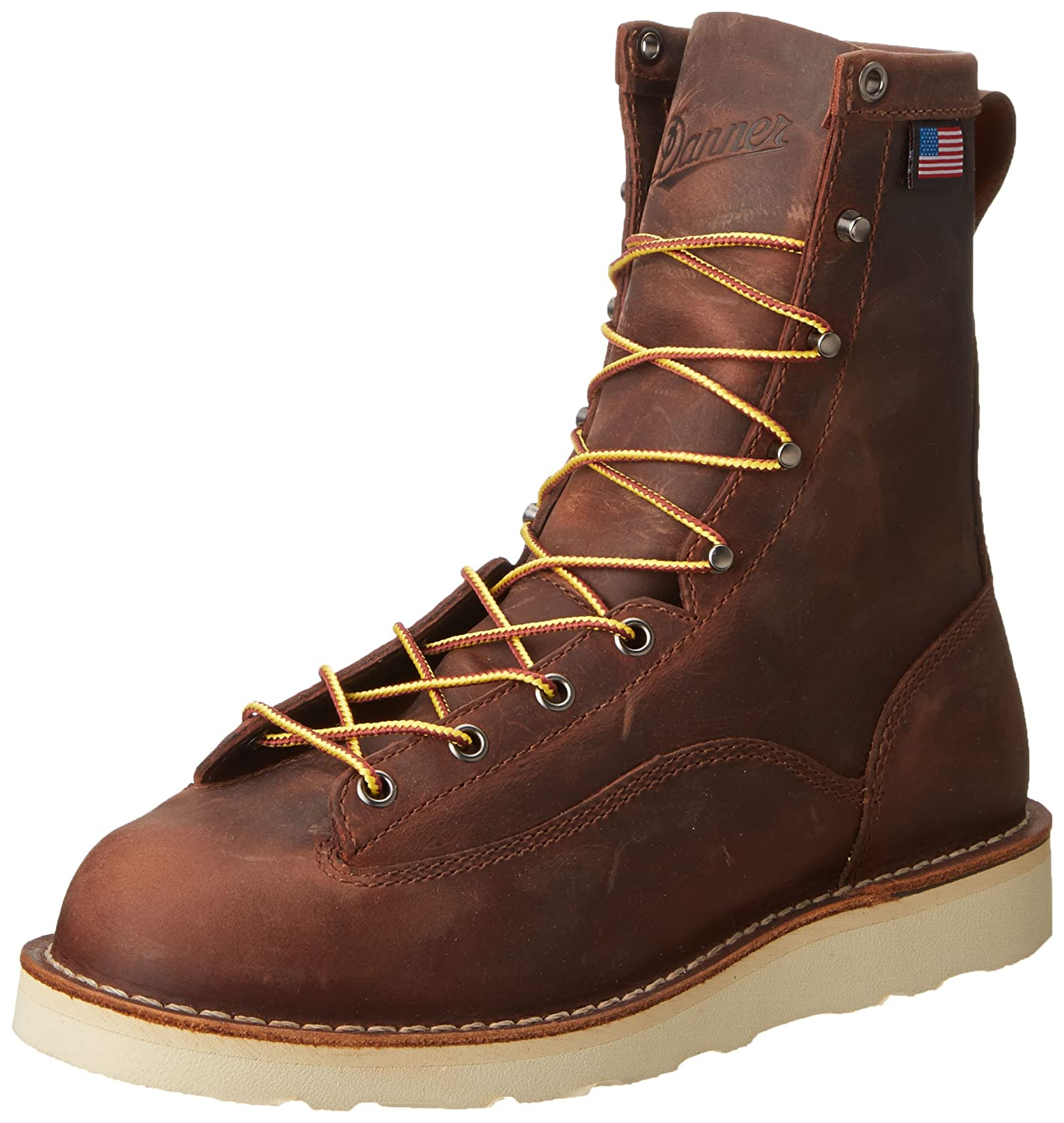 Amazon.com: Danner Men's Bull Run 8-Inch BRN Cristy Work Boot: Shoes