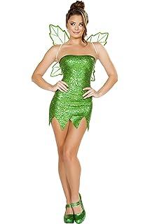 Amazon.com: Adultos Disfraz De Tinkerbell Prestige 88931 ...