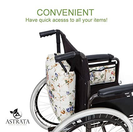 Amazon.com: Mochila para silla de ruedas: Health & Personal Care