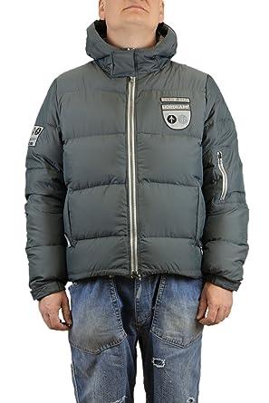 Chpapa Gris Brun Down Goose Capuche Avec Real Jacket Et b76fgy