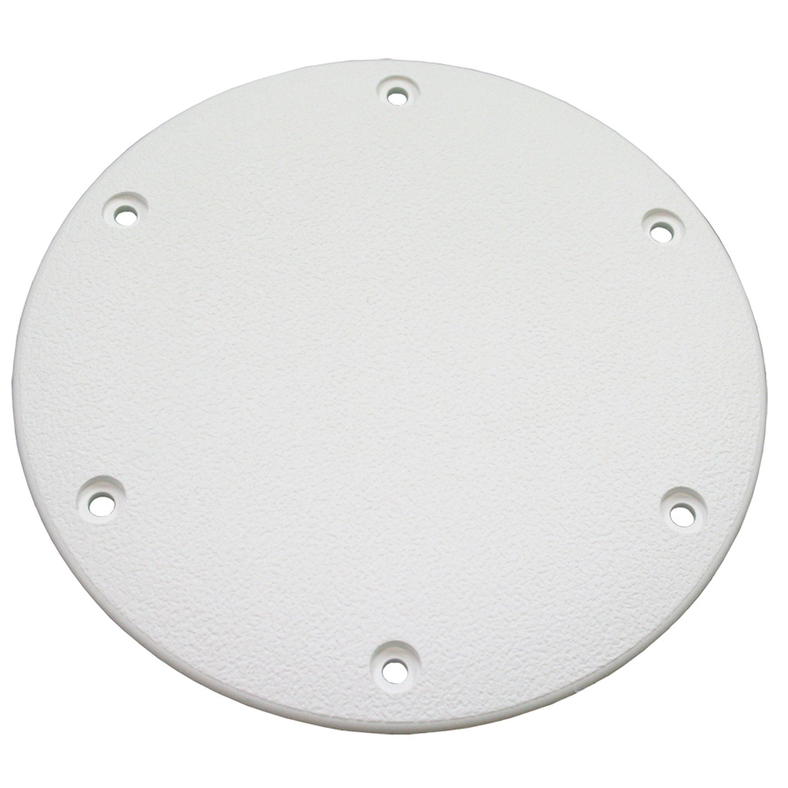 T-H Marine DSSDP-2-2-DP Designer Series Screw Down Deck Plates, 8'' - White