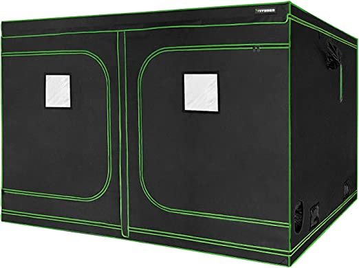 "VIVOSUN 96""x96""x80"" Mylar Hydroponic Grow Tent - Best for Convenience"