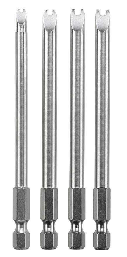 KWB 4 puntas 100 mm Spanner 129340 (TQ 60 Acero, ISO 1173, accionamiento E 6.3), 0 W, 0 V