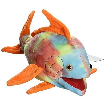 """Sunny toys 16"""" Tropical Fish Opah/Rainbow Hand Puppet"""