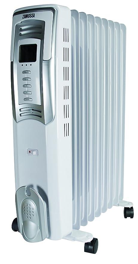 Zanussi 503025 Radiador con baño de aceite con termostato electrónico 2500 W