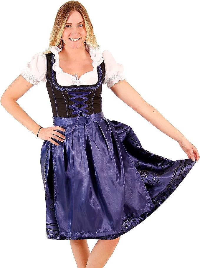 Amazon.com: Bávara Oktoberfest drindl cerveza alemana Girl ...