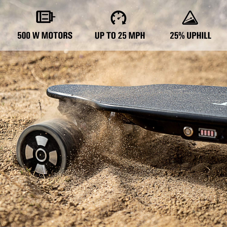 Amazon com : SKATEBOLT Electric Skateboard, Max Range 18 6