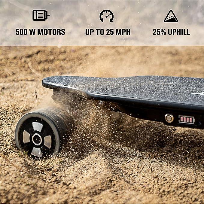 Amazon.com: Patineta electrica Skatebolt, rango má ...