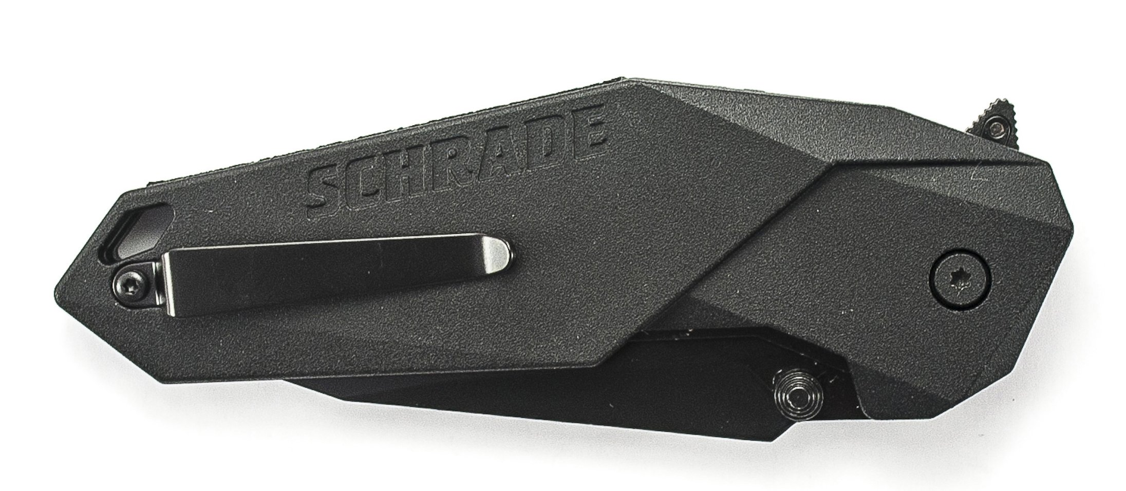 Schrade SCHA5B M.A.G.I.C. Assisted Opening Liner Lock Folding Knife Clip Point Blade Aluminum Handle