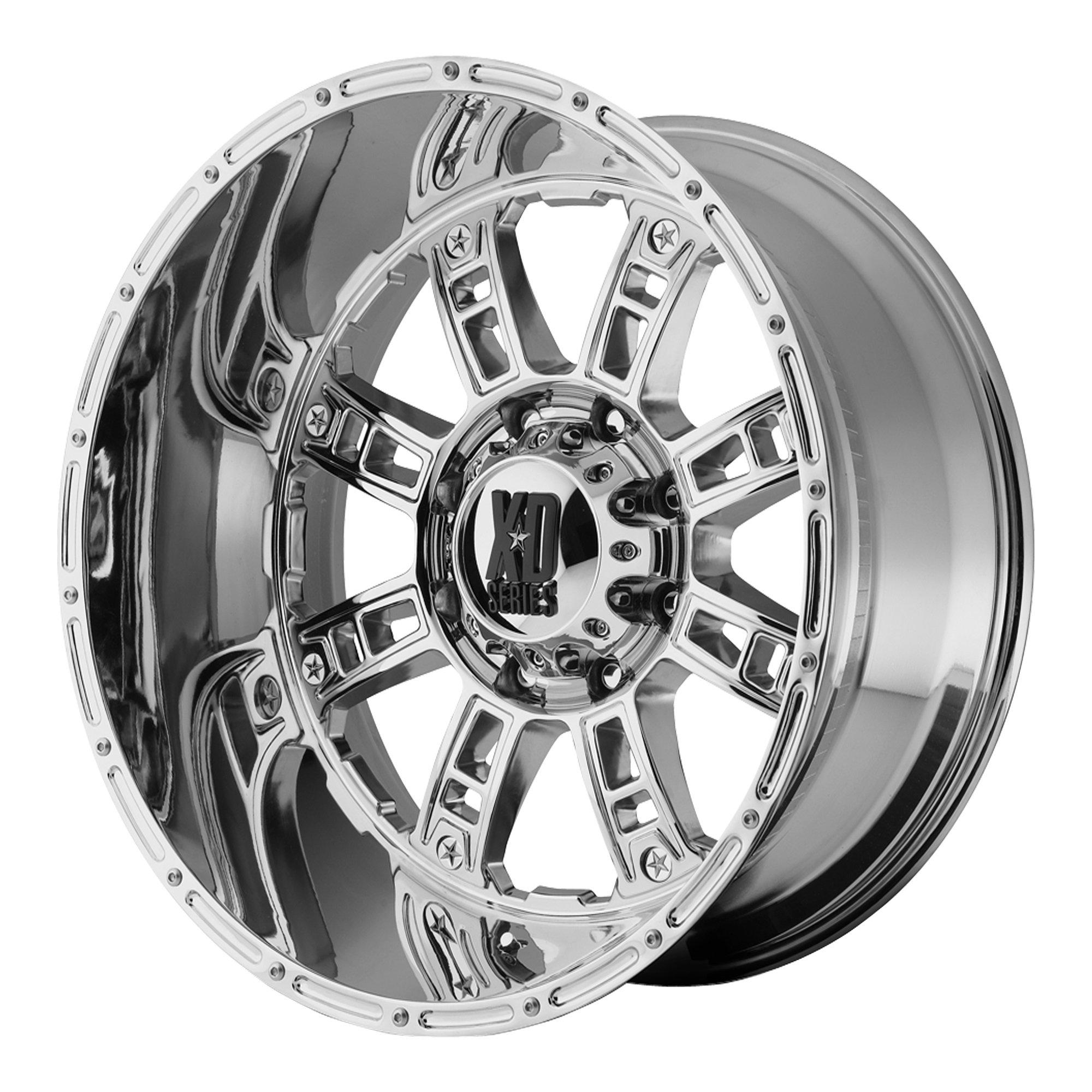 XD-Series  XD809 Wheel with Chrome Finish (20x10''/8x170mm)