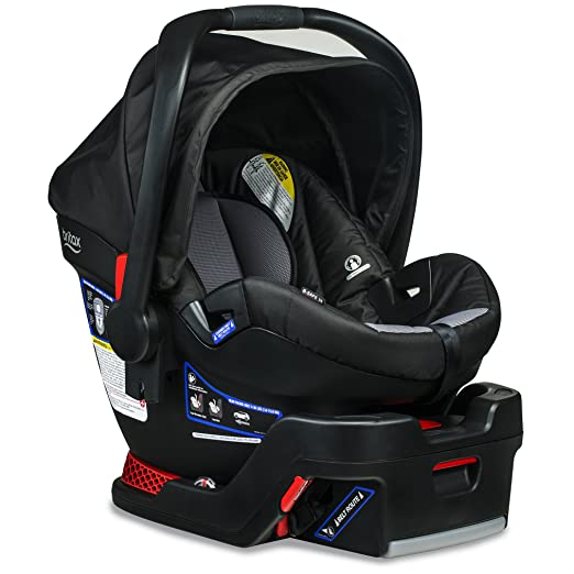 Britax B Safe 35 Infant Car Seat   Rear Facing 4 To 35 Pounds   Reclinable Base, Ashton by Britax