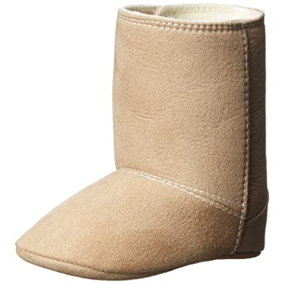 Baby Deer Tan Suedecloth Fashion Boot (Infant)