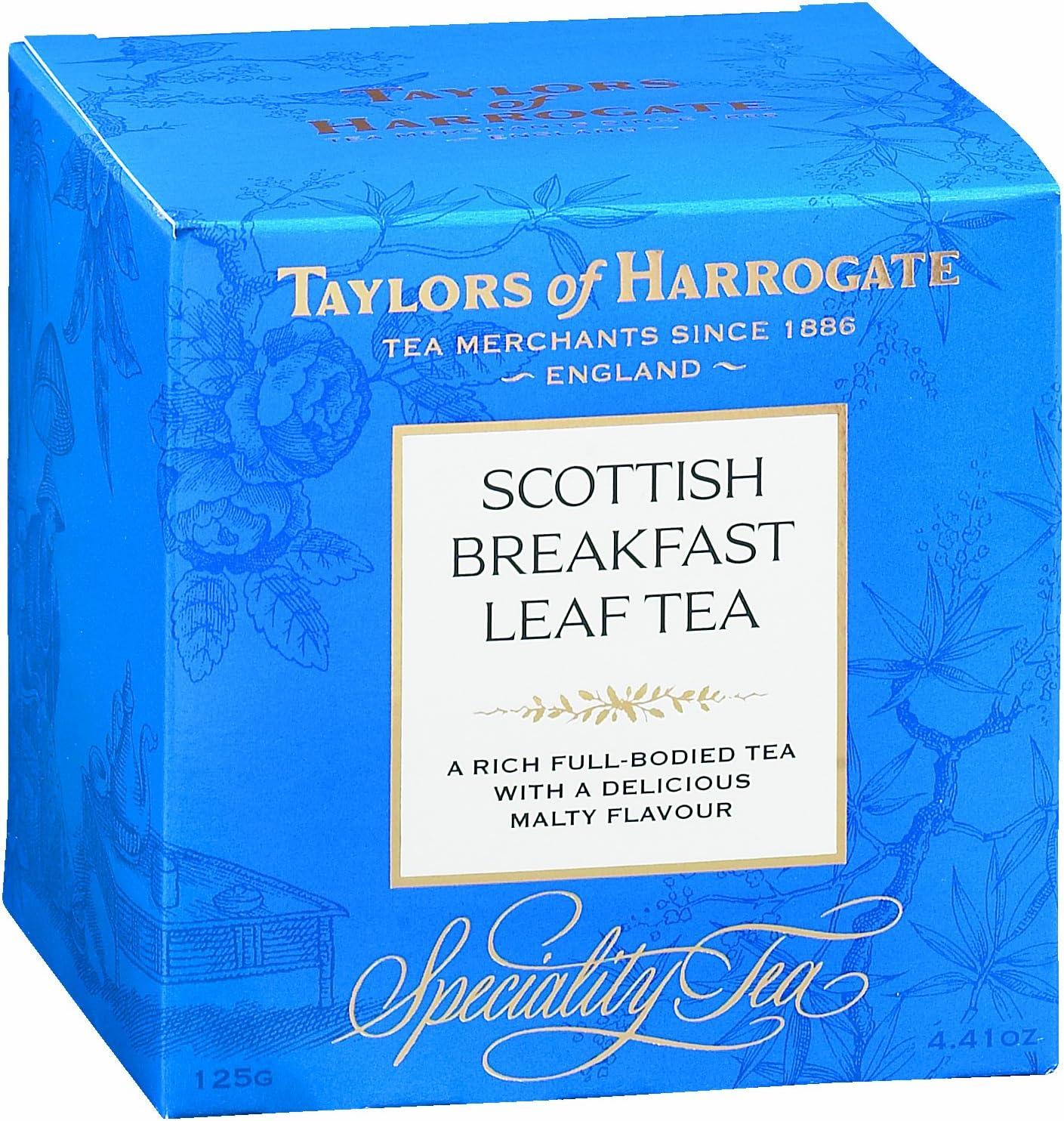 Taylors of Harrogate Scottish Breakfast Loose Leaf, 4.41 Ounce Carton