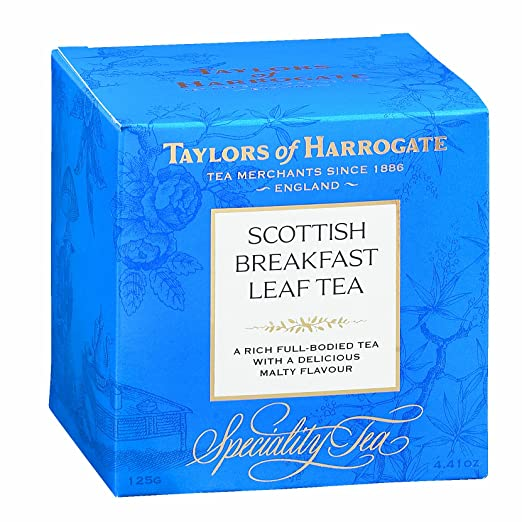 Taylors of Harrogate Scottish Breakfast Loose Leaf, 4.41 Ounce Carton
