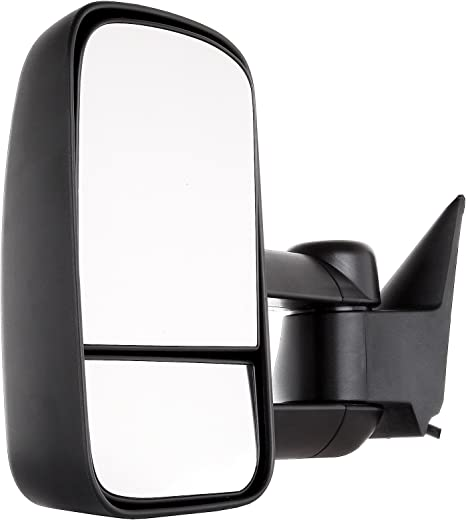 ROADFAR Towing Mirrors Compatible with 1988-1998 Chevy GMC C1500//K1500 1988-2000 Chevy GMC C2500//K2500//K3500 Tow Mirrors Left and Right Side Power Control No Heated LED Turn Signal Light