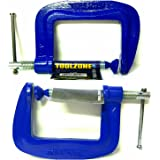 Large Grip//Vice Wood Metal Joinery Welding DIY 2X Heavy Duty 6 Malleable G Clamp