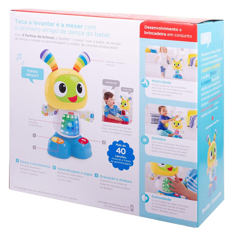 Fisher Price Robot Robi Robot De Aprendizaje Bebé Juguetes Educativos Versión Portuguesa Mattel Djy32