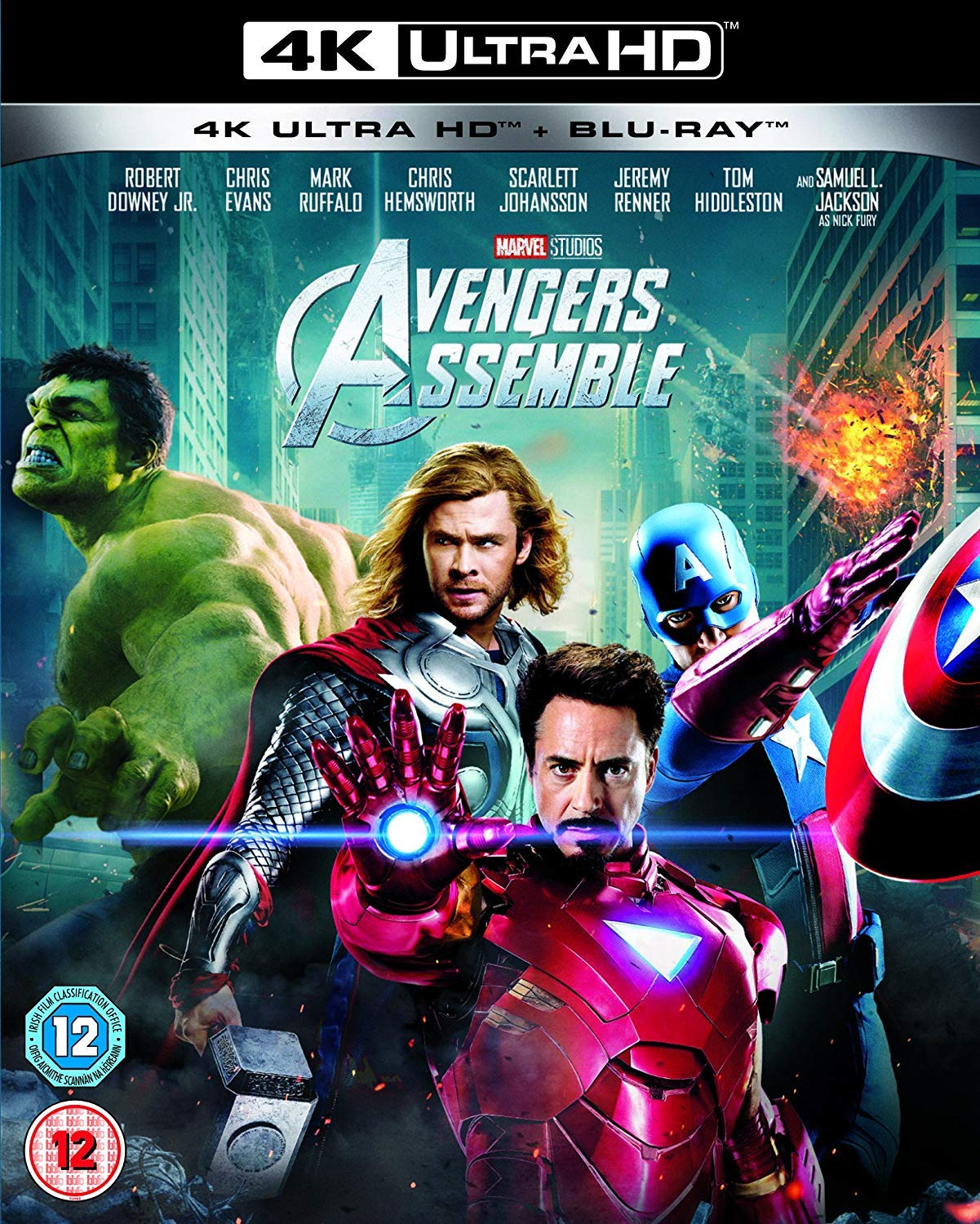Avengers Assemble [Italia] [Blu-ray]: Amazon.es: Robert Downey Jr ...