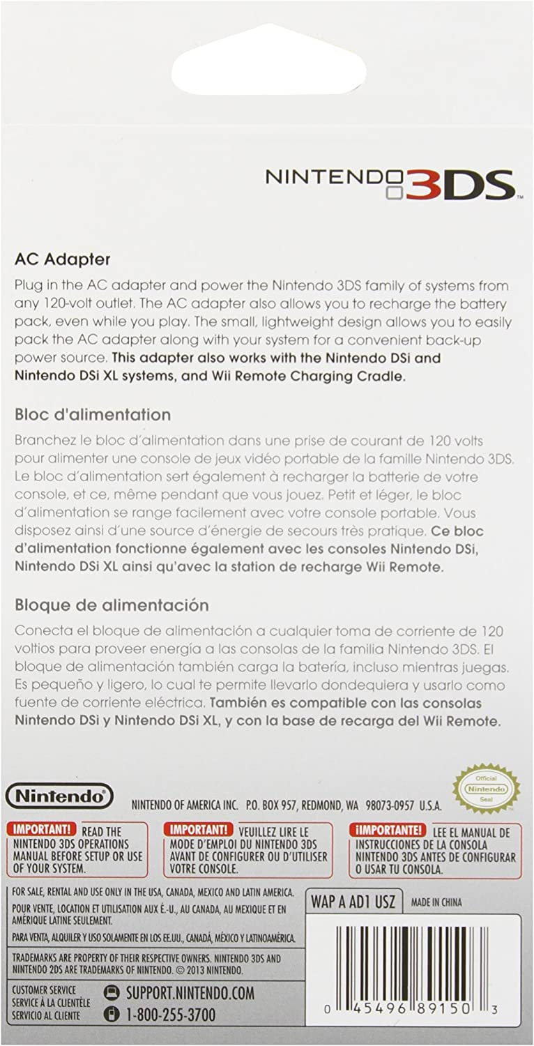 amazon com nintendo 3ds compatible with 3ds 3ds xl 2ds ac rh amazon com nintendo 3ds operations manual master key phone number nintendo 3ds xl operations manual phone number