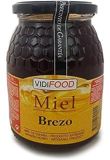 Miel de Brezo - 1kg - Producida en España - Alta Calidad, tradicional & 100