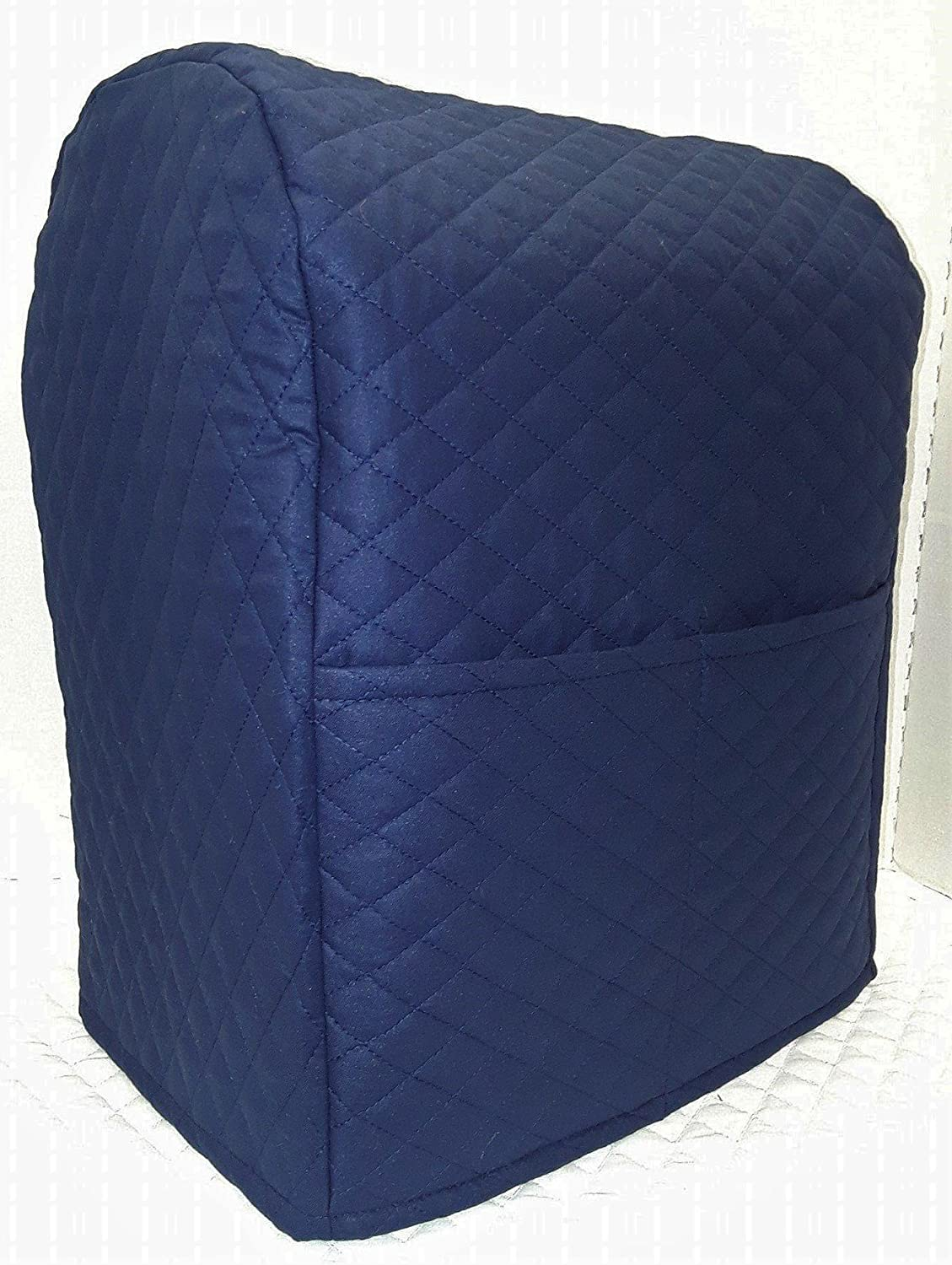 Quilted Cover for Kitchenaid 7 Quart Lift Bowl Stand Mixer (Navy Blue) by Penny's Needful Things Penny' s Needful Things 7qt
