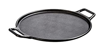 Lodge Pre-Seasoned Black Cast Iron Baking Pan