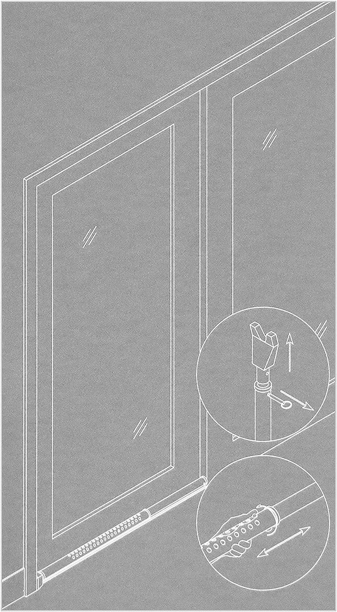 Basi® Puerta de seguridad Barra 700 – 1.100 mm telescópico barra ...