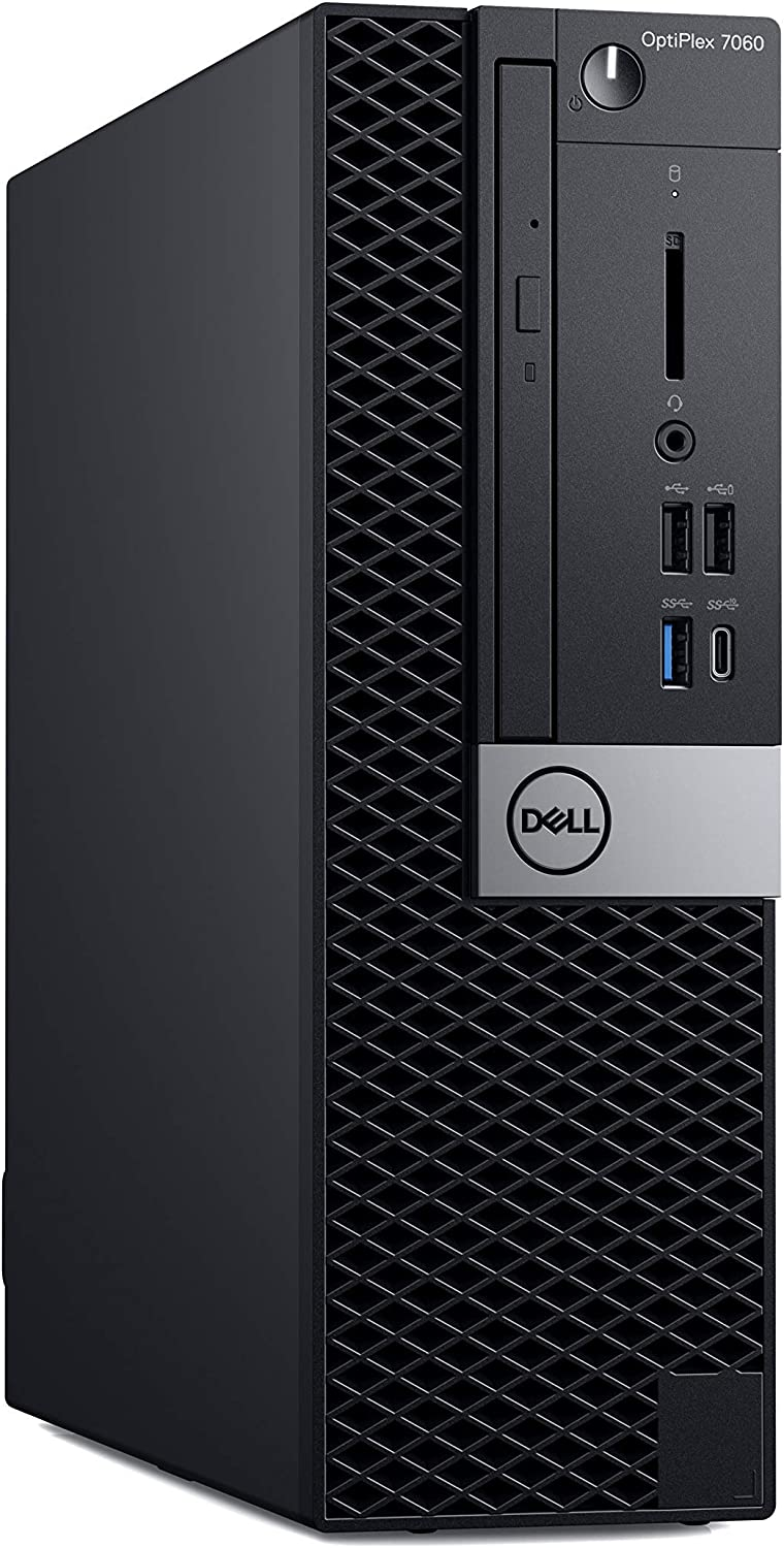 Dell OP7060SFFT7G0K OptiPlex 7060 SFF Desktop Computer with Intel Core i7-8700 3.2 GHz Hexa-core, 16GB RAM, 256GB SSD (Certified Refurbished)