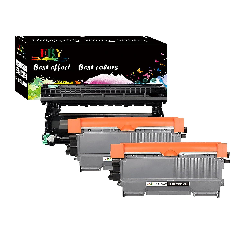 TN450 Toner Cartridge For Brother TN-420 450 Hl-2220 2240 2270DW MFC-7360N DR420