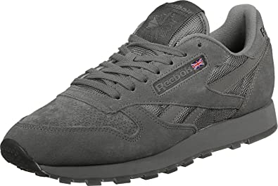bbd925777806 Reebok Men Shoes Sneakers Leather Urban Descent SM Grey 46  Amazon ...