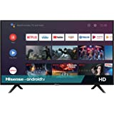 Hisense 32H5500F Class H55 Series Android Smart TV con Mando a Distancia de Voz (Modelo 2020)