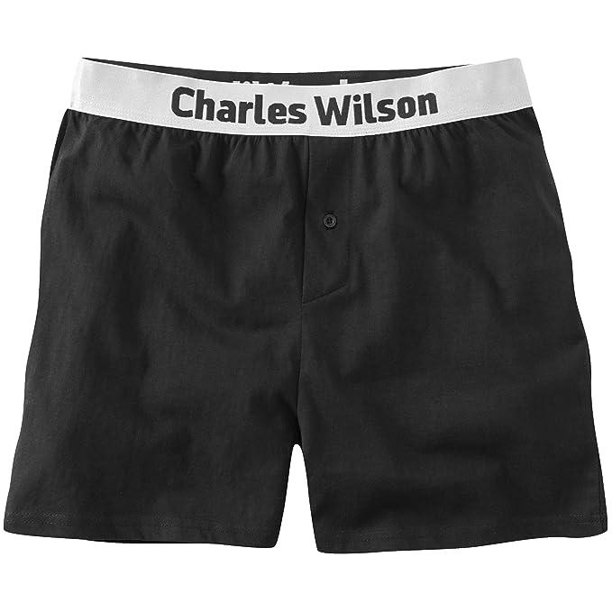 Charles Wilson Calzoncillo Bóxer Suelto de Hombre Paquete 4 Unidades: Amazon.es: Ropa y accesorios
